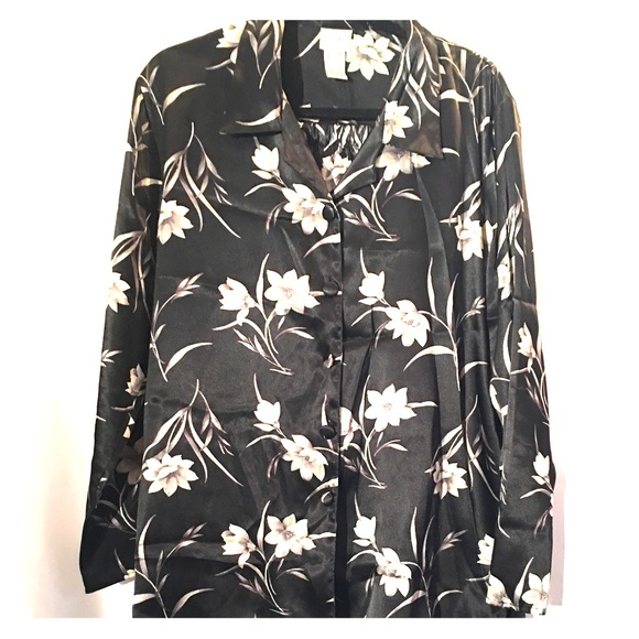 delicates Other - Floral Silky Lounge Pajamas